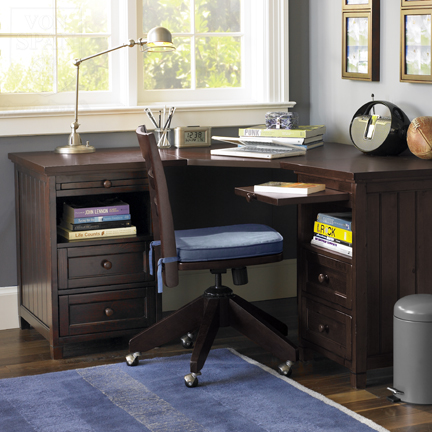 Pottery Barn Teen desk and chair